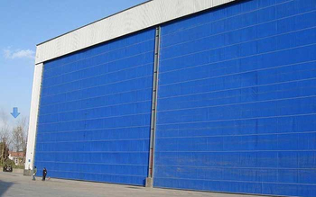 LanZhou Fabric mega hangar door