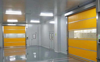 Coca-Col(ZhengZhou) Clean Room Rapid door