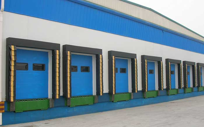 China post logistics (NanYang station)-Sectional door